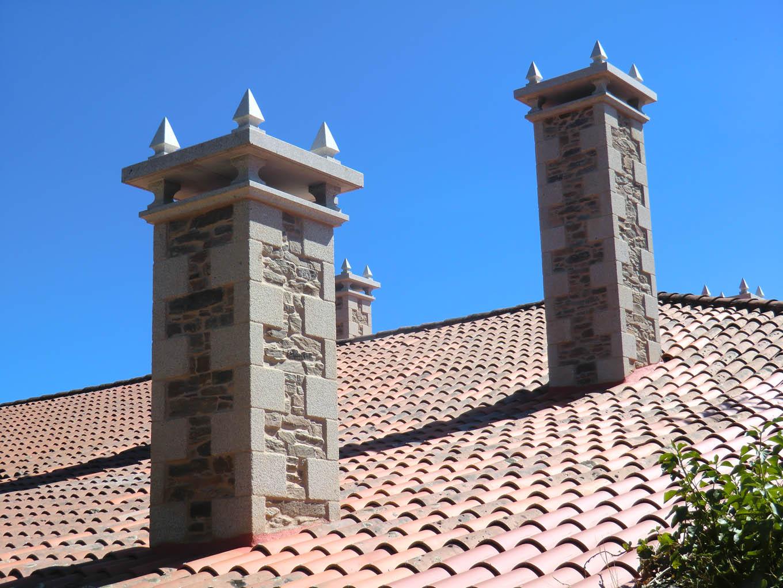 Chimeneas de tejado