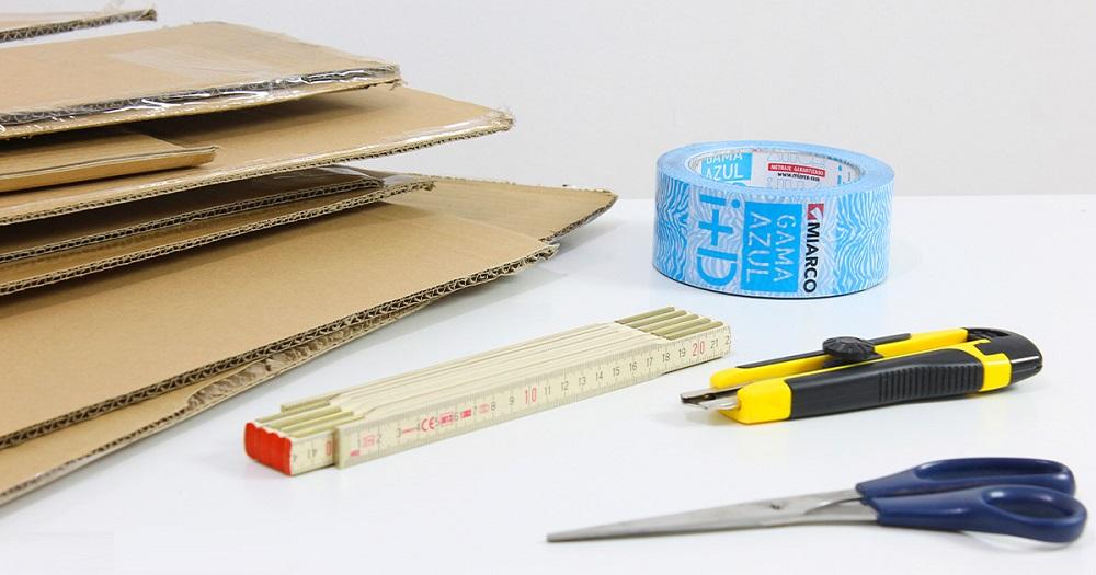 Materiales para trabajar con cartón