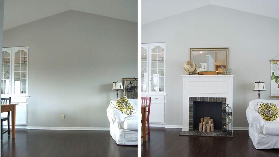 antes y después de chimenea