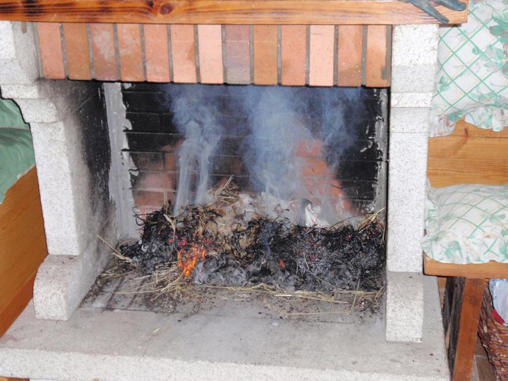 Humo de chimenea