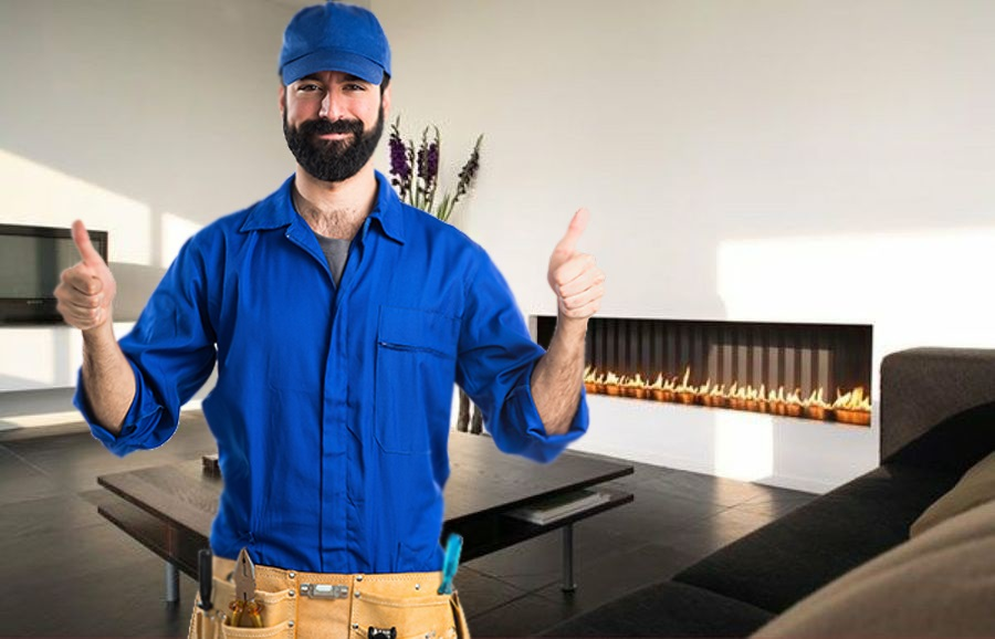 Técnico de mantenimiento de chimeneas