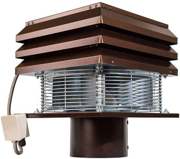 En la canalización de chimeneas se emplean extractores de humo