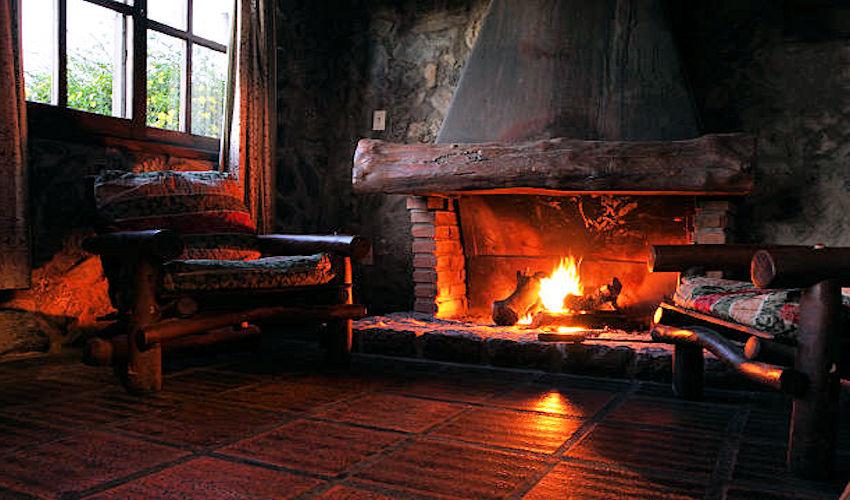 reducir el humo de chimenea